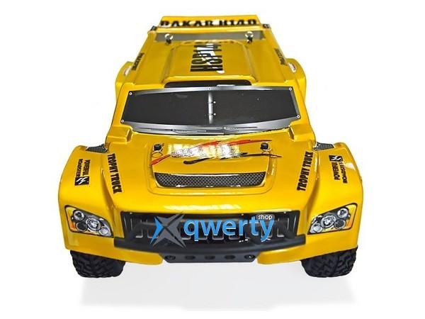 HSP Hummer Dakar H140 1:14 трофи - трак 4WD электро желтый RTR