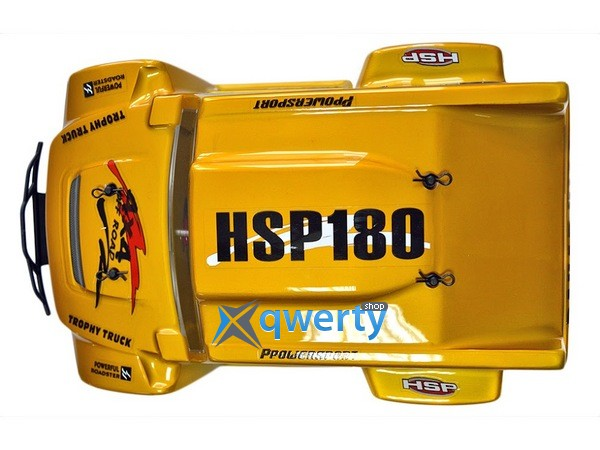 HSP Hummer Dakar H180 1:18 трофи - трак 4WD электро желтый RTR