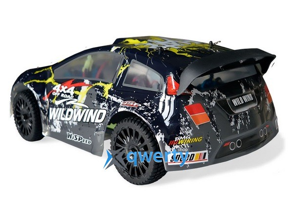 HSP WildWind 1:14 ралли 4WD электро черный RTR