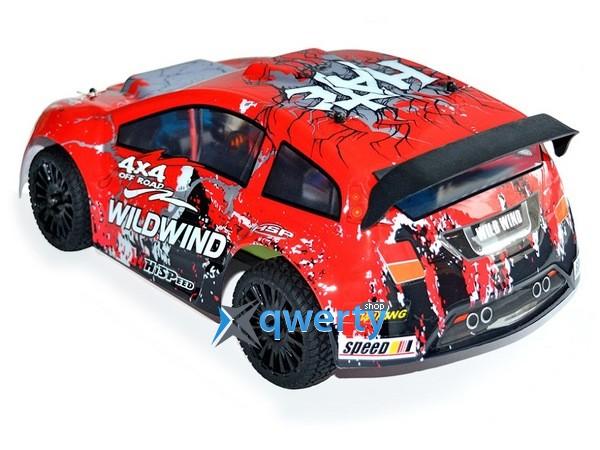 HSP WildWind 1:14 ралли 4WD электро красный RTR