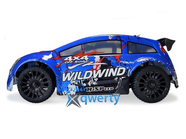 HSP WildWind 1:14 ралли 4WD электро синий RTR