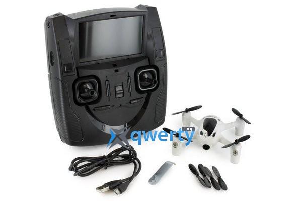 Hubsan H107D+ X4 FPV 2.4ГГц 5.8ГГц 4CH RC Quadcopter HD камера RTF белый