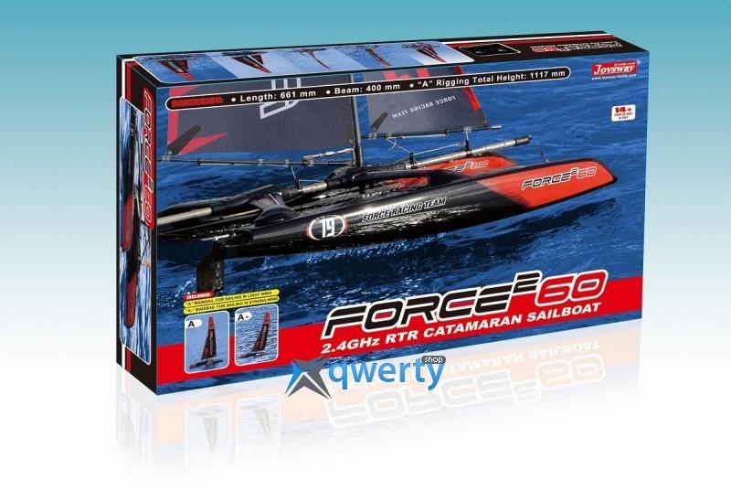 Joysway Force2 60 0,665 м 2.4ГГц черно-красная RTR