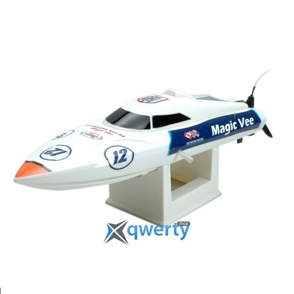 Joysway Magic Vee MK2 0,27м 2.4ГГц электро бело-синий RTR