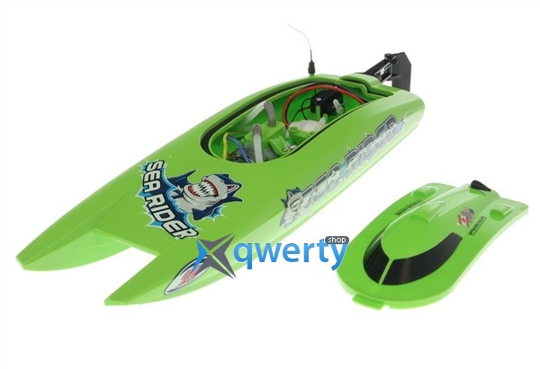 Joysway Offshore Lite Sea Rider 0,42м 2.4ГГц электро зелёный RTR (c АКБ)