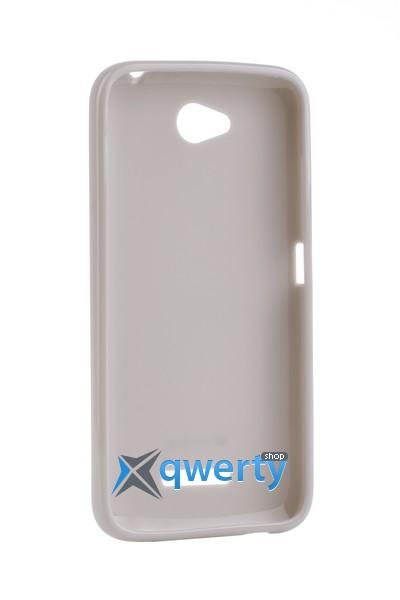MELKCO HTC Desire 616 Poly Jacket TPU Gray