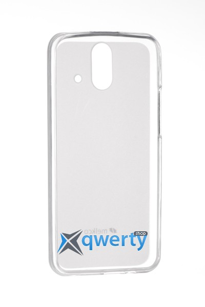 MELKCO HTC One E8 Poly Jacket TPU Transparent