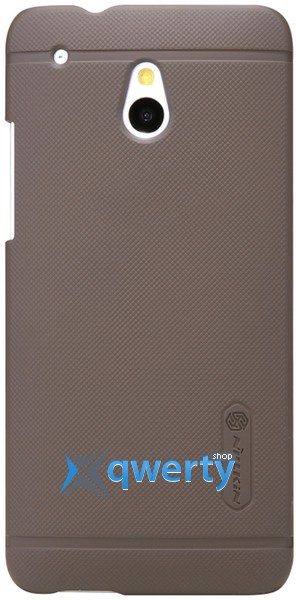 NILLKIN HTC ONE mini (M4) - Super Frosted Shield (Brown) (Коричневый)