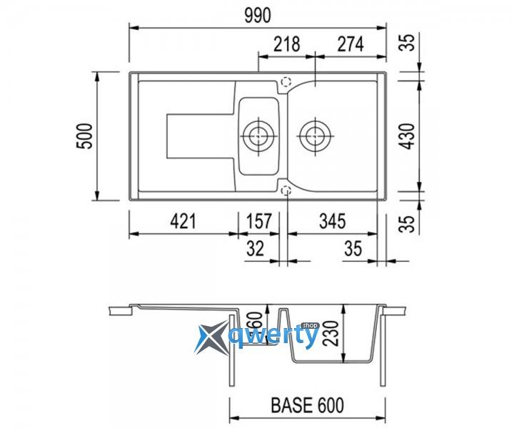 Plados CORAX 99.15 UG 90 (CX0991/90) белый опал
