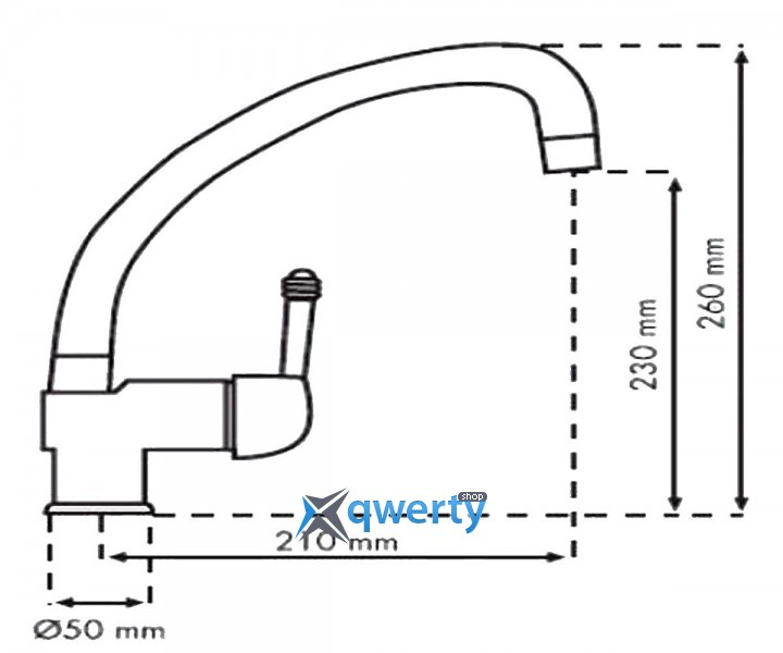 Plados EUROMIX/40 (EUROMIX/40) хром