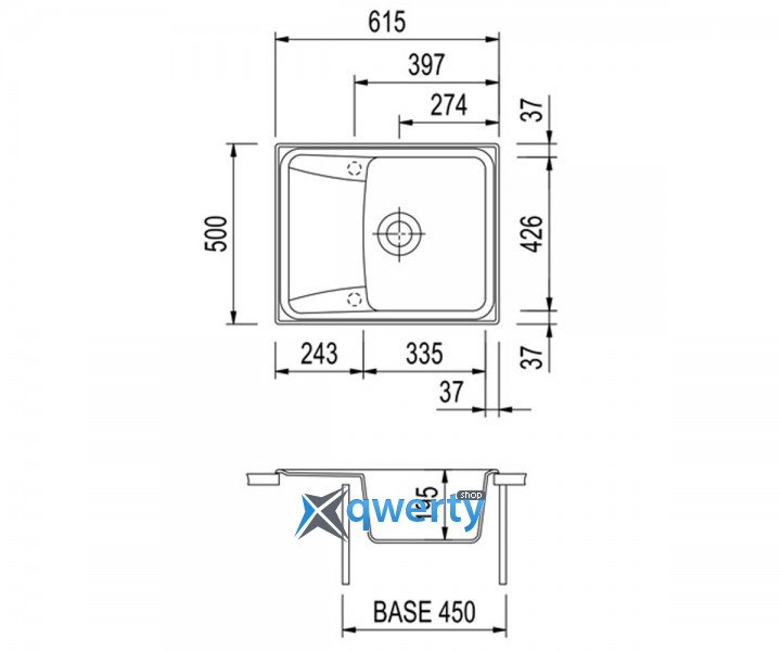 Plados HARMONY 61.10 UG 94 (HR6150/94) овес