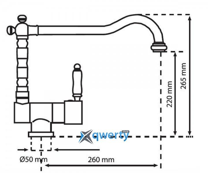 Plados MIXOLDST/95 UG (MIXOLDST/95) эбонитовый черный