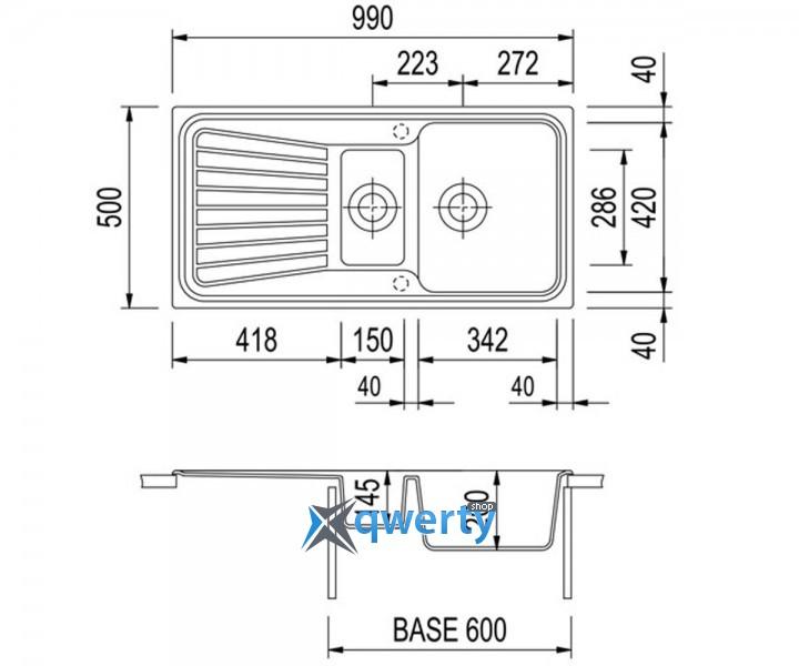 Plados SPAZIO 99.15 UM 60 (SP0991/60) медь