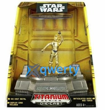 Star Wars TITANIUM DIECAST C-3PO