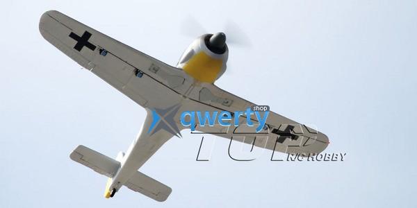 TOP RC FW190B warbird копия электро бесколлекторный 1200мм 2.4ГГц RTF