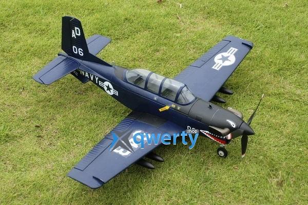 TOP RC T-34 warbird копия электро бесколлекторный 750мм синий 2.4ГГц RTF