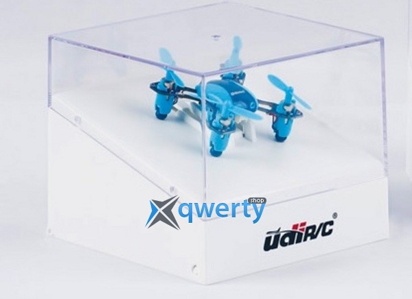 UDIRC 2,4 GHz 40мм мини 3.7V 100mAh Li-Po 4Ch Indoor and Outdoor Flight Mode Blue