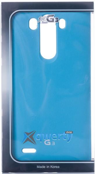 VOIA LG Optimus G 3 - Jell Skin (синий)