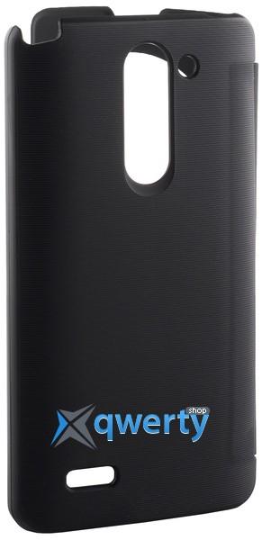 VOIA LG Optimus L80+ Dual (D335/Bello) - Flip Case (Black)