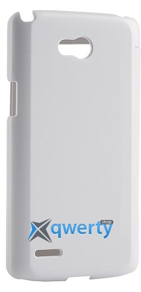 VOIA LG Optimus L80 Dual (D380) - Flip Case (белый)