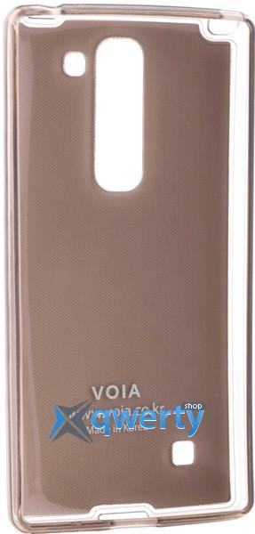 VOIA LG Optimus Magna - Jell Skin (серебристый)