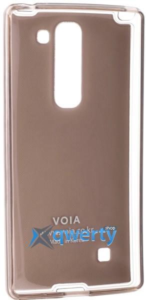 VOIA LG Optimus Spirit - Jell Skin (синий)