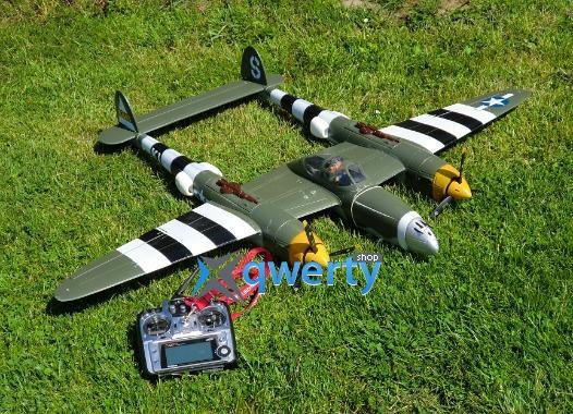 X-UAV P-38 warbird копия электро бесколлекторный 1400мм PNF