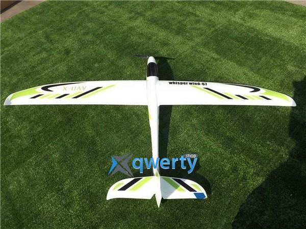 X-UAV Whisper wind пилотажный электро бесколлекторный 1700мм 4CH PNF