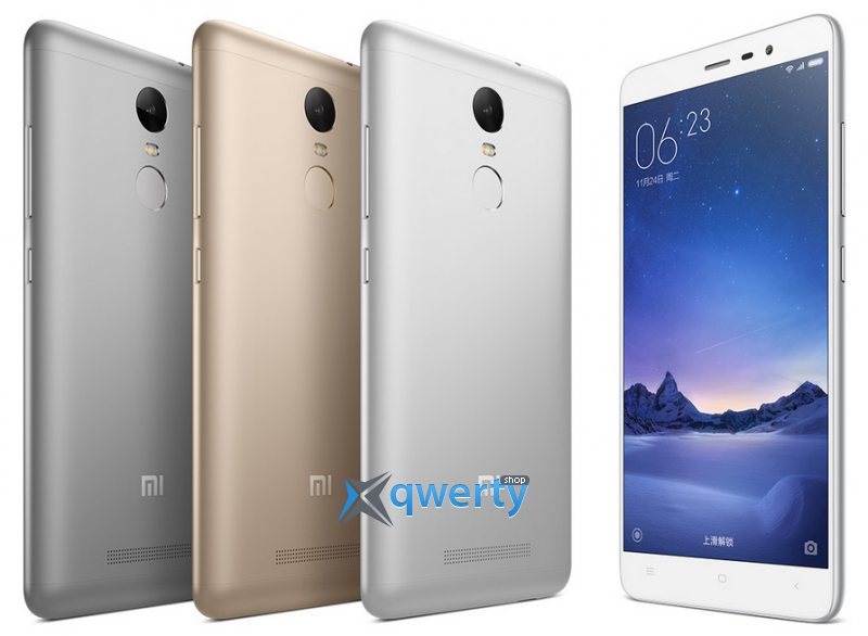 Xiaomi Redmi Note 3 3/32GB Silver