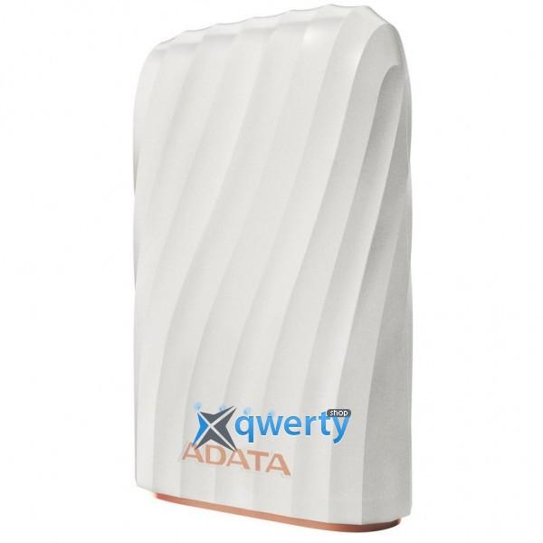 ADATA P1050C WHITE 10050MAH, OUT 2*5V*2,4A MAX, CABLE USB-C (AP10050C-USBC-CWH)
