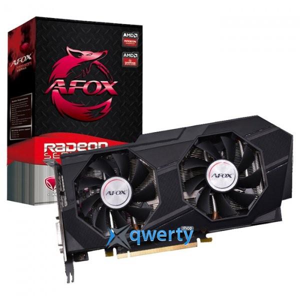 AFOX Radeon RX 570 8GB GDDR5 (256bit) (1168/7000) (DVI, HDMI, 3х DisplayPort) (AFRX570-8192D5H2)