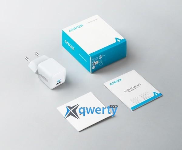 Anker PowerPort III Nano 20W USB-C White A2633G22