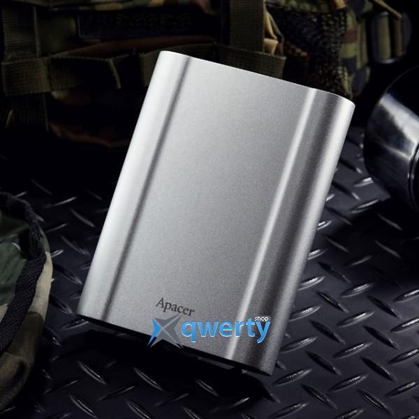 Apacer 2.5 USB 3.1 1TB AC730 Metal Silver (AP1TBAC730S-1)