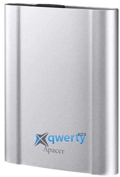 Apacer 2.5 USB 3.1 2TB AC730 Metal Silver (AP2TBAC730S-1)