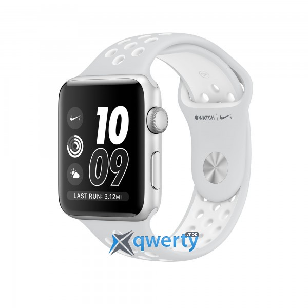 Apple Watch Nike+ MQ172 38mm Silver Aluminum Case with Pure Platinum/White Nike Sport Band