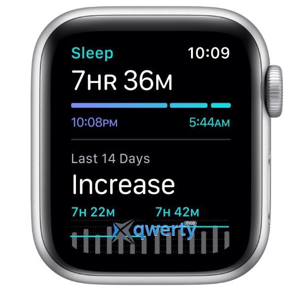 Apple Watch Series SE GPS (MYDM2) 40mm Silver Aluminium Case with White Sport Band