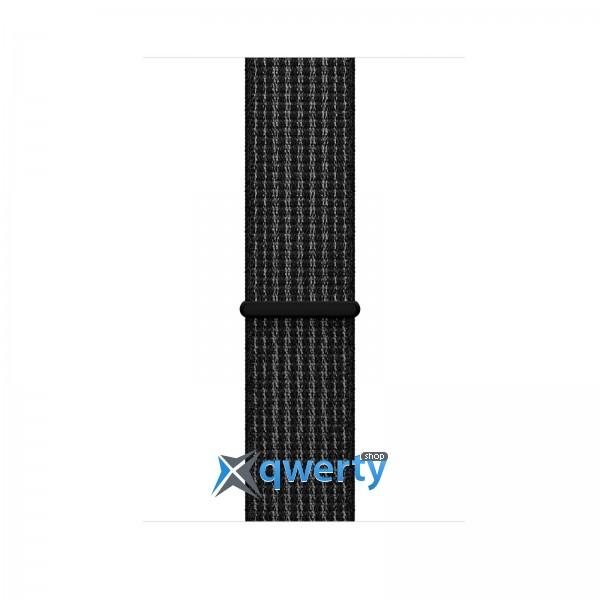 Apple Watch Series 3 Nike+ (GPS + LTE) MQLF2 42mm Space Gray Aluminum Case with Black/Pure Platinum Loop