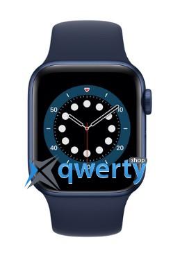 Apple Watch Series 6 GPS (M00J3) 44mm Blue Aluminium Case with Blue Sport Band