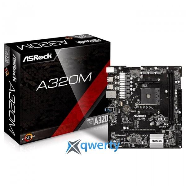 ASRock A320M (sAM4, AMD A320, PCI-Ex16)