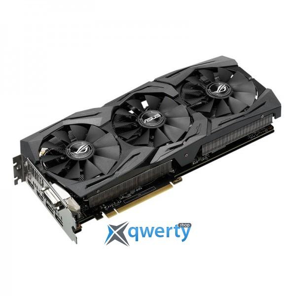 Asus PCI-Ex GeForce GTX 1060 ROG Strix 6GB GDDR5 (192bit) (1506/8008)  (STRIX-GTX1060-6G-GAMING)