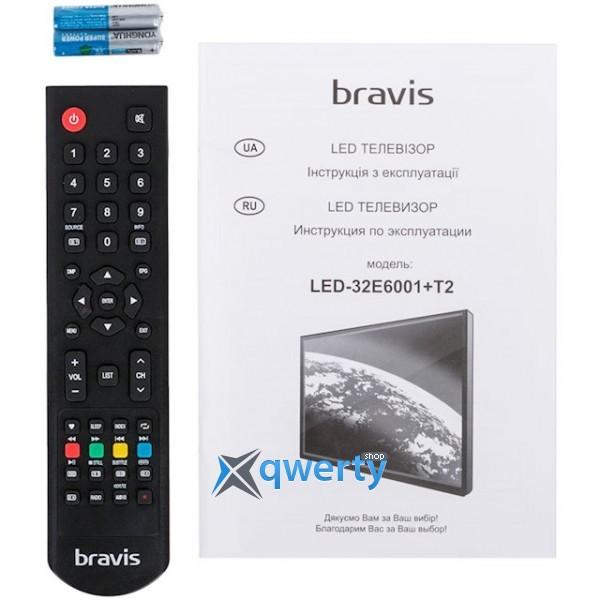 Bravis LED-32E6001 + T2 black