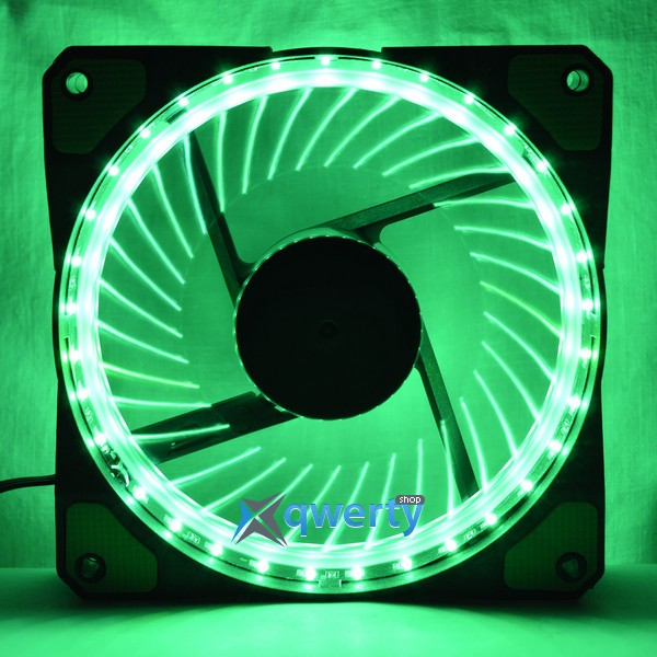 COOLING BABY 12025HBGL-33 Green LED (12025HBGL-33 GREEN)