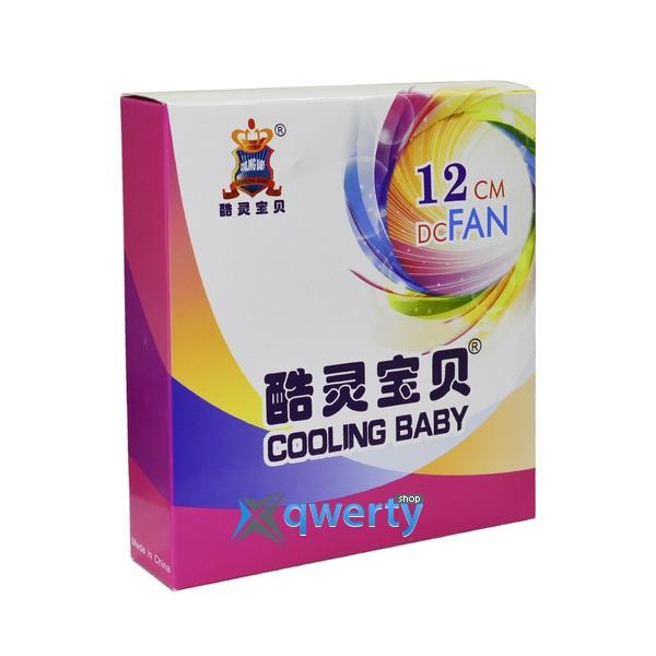 COOLING BABY 12025HBPL-33 Purple LED (12025HBPL-33 PURPLE)
