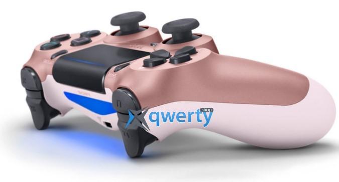 Джойстик DualShock 4 Rose Gold V2