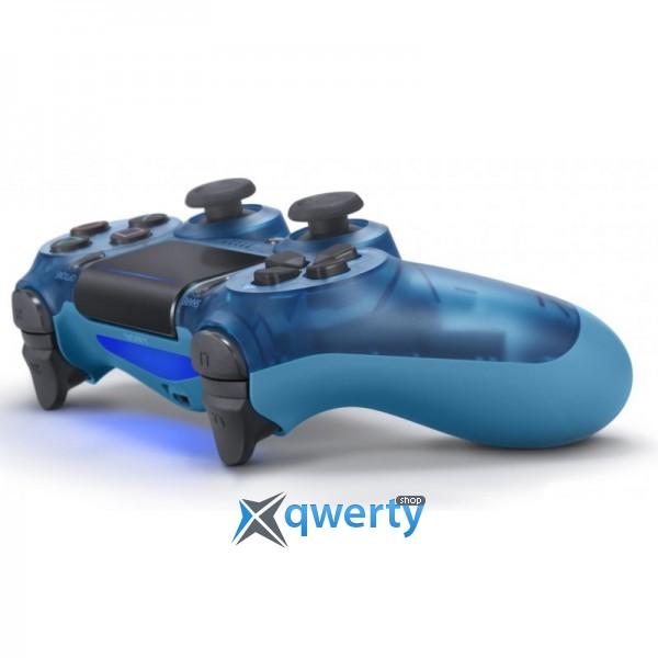 Джойстик DualShock 4 V2 Blue Crystal