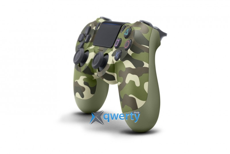 Джойстик DualShock 4 V2 Green Camouflage