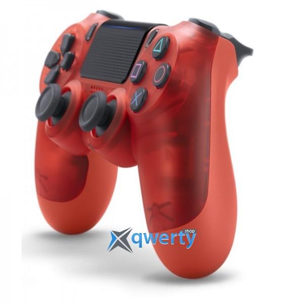 Джойстик DualShock 4 V2 Red Crystal