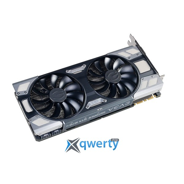 EVGA GeForce GTX 1070 Ti 8GB GDDR5X (256bit) (1607/8008) (DVI, HDMI, DisplayPort) FTW2 Gaming (08G-P4-6775-KR)