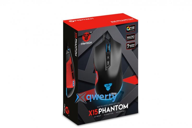 Fantech X15 Phantom/18575 Black USB