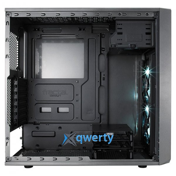 Fractal Design Focus G Window Grey (FD-CA-FOCUS-GY-W) Gunmetal Gray